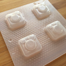 Load image into Gallery viewer, Instant Camera Plastic Mold - Shaker Option available