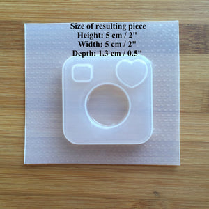 Instant Camera Plastic Mold - Shaker Option available