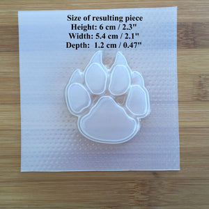 Paw with Claws Plastic Mold