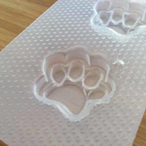 Small Paw Prints Plastic Mold
