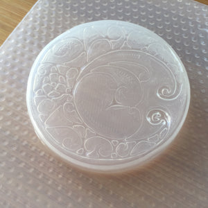 Swirly Full Moon Plastic Mold