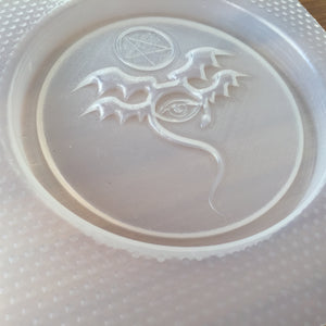Evil Eye Coaster Plastic Mold