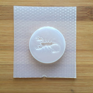 Scorpio Badge Plastic Mold