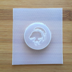 Leo Badge Plastic Mold