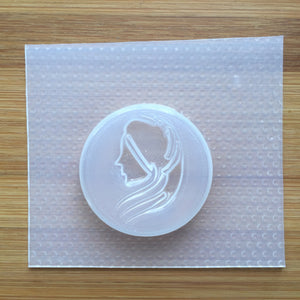 Virgo Badge Plastic Mold