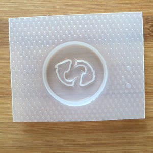 Pisces Badge Plastic Mold