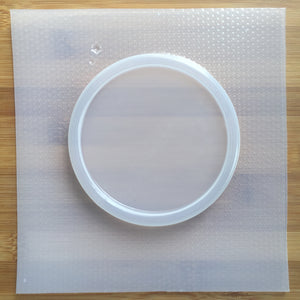 10 cm Coaster Plastic Mold (4 inches)