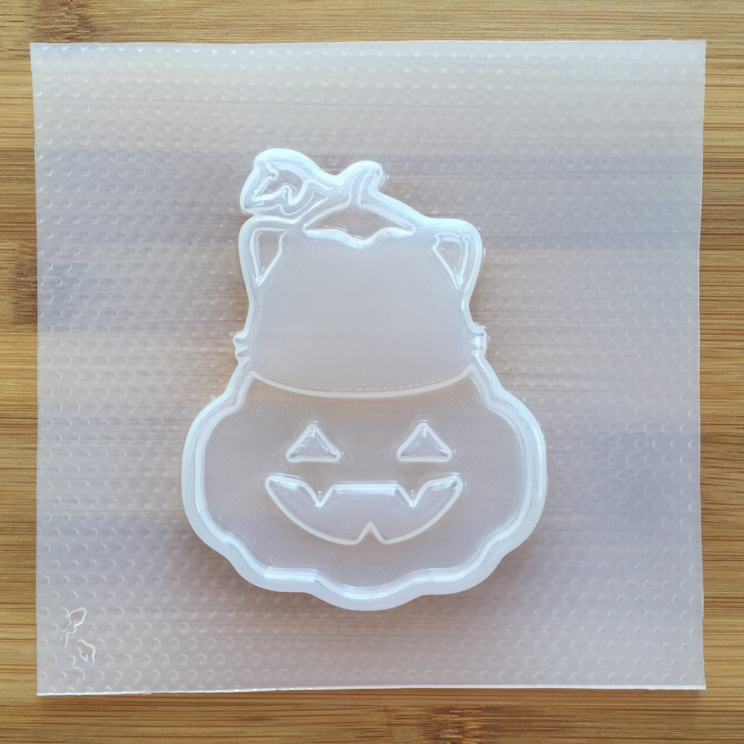 Pumpkin Cat Plastic Mold