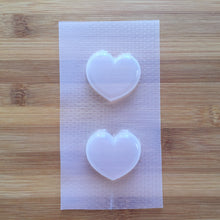 Load image into Gallery viewer, Small Puffy Heart Plastic Mold - choose from 1 / 2 / 9 cavities options