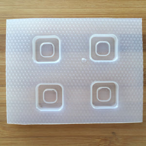 1 inch Rounded Square Frame Plastic Mold