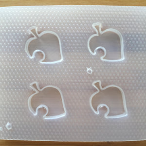 Bitten Leaf Plastic Mold - Choose from 2 sizes