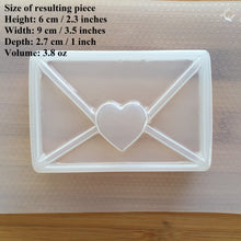 Load image into Gallery viewer, 3.8 oz Envelope Bath Bomb Plastic Mold