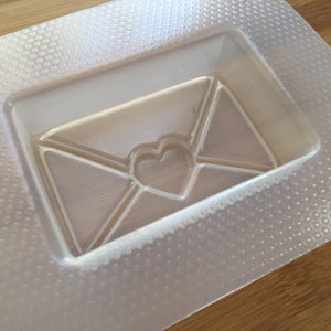 3.8 oz Envelope Bath Bomb Plastic Mold
