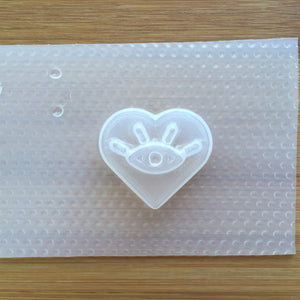 3cm Heart Intuition Plastic Mold