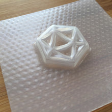 Load image into Gallery viewer, 20 faced Dice Plastic Mold