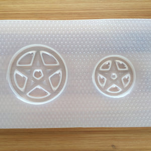 Pentacle Circle Star Plastic Mold