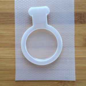Round Vial Plastic Mold - choose from 2 sizes