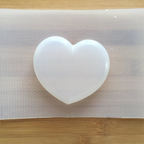 3.5 oz Bubble Heart Plastic Mold