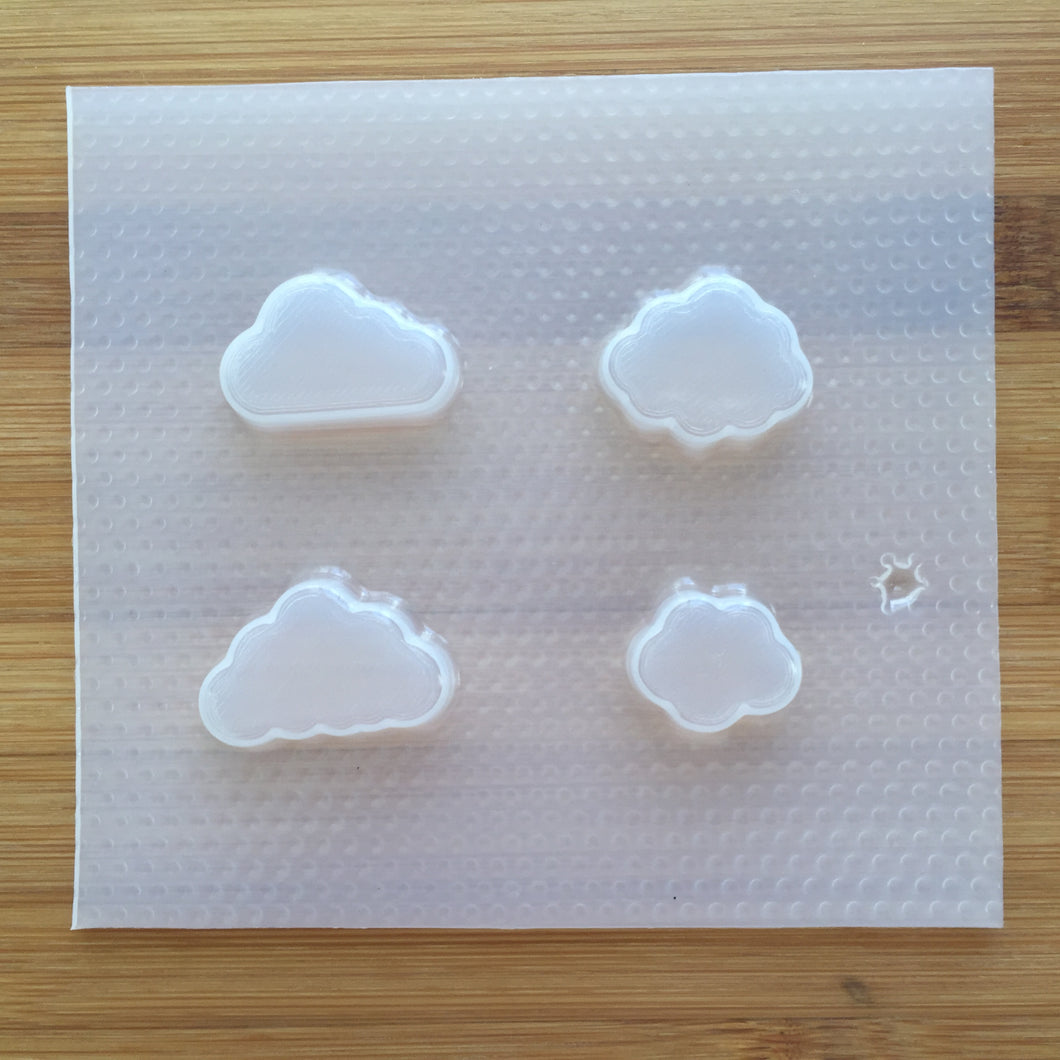 Tiny Clouds Plastic Mold