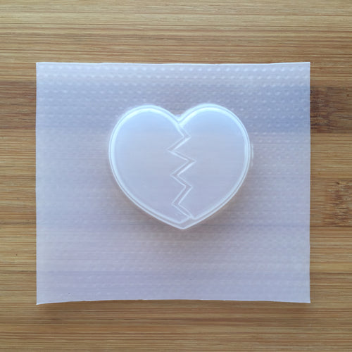 Broken Heart Plastic Mold