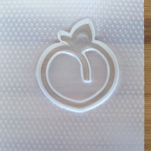 Large Peach Shaker Plastic Mold