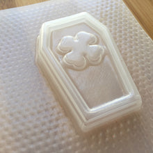 Load image into Gallery viewer, Crossbones Coffin Plastic Mold