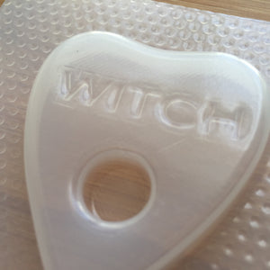 Witch Planchette Plastic Mold