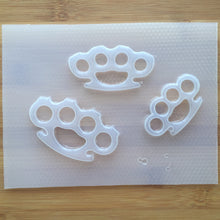 Load image into Gallery viewer, Brass Knuckles Plastic Mold - Palette