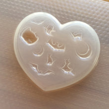 Load image into Gallery viewer, Spooky Heart Plastic Mold