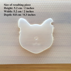 Shabby Cat Plastic Mold