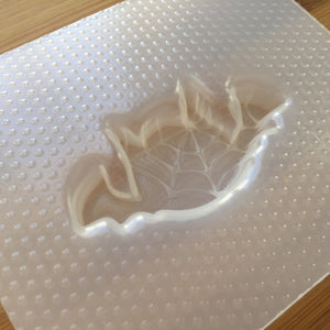 Cobwebbed Bat Plastic Mold