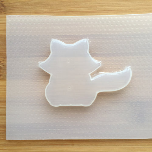 Raccoon Plastic Mold - Full Body Silhouette