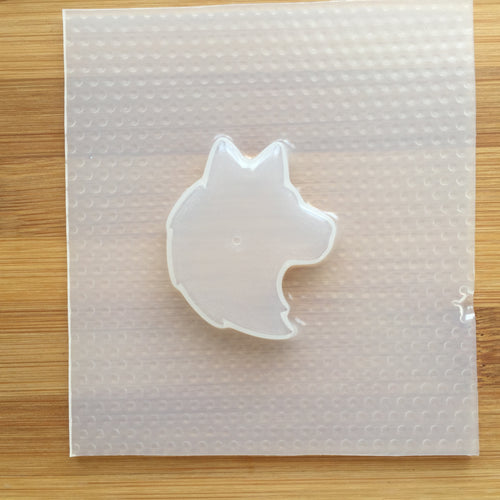 Small Wolf Plastic Mold