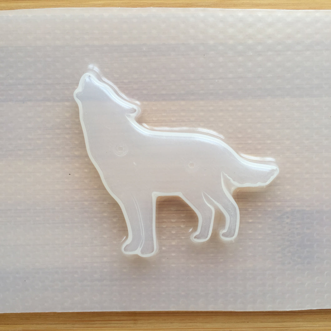 Howling Wolf Plastic Mold