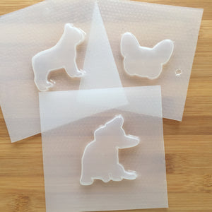 French Bulldog Plastic Mold