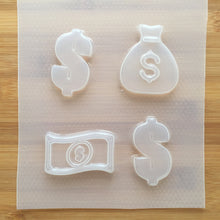 Load image into Gallery viewer, Large Dollar Money Plastic Mold