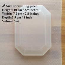 Load image into Gallery viewer, 5 oz Gem Plastic Mold