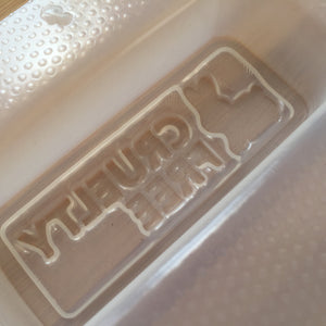 3.3 oz Cruelty Free Bar Plastic Mold - available in two depths