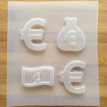 Load image into Gallery viewer, Euro Money Plastic Mold - choose from 2 sizes