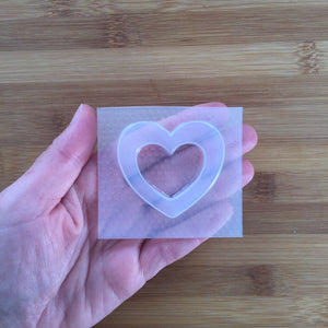 Small Heart Shaker Mold 💓