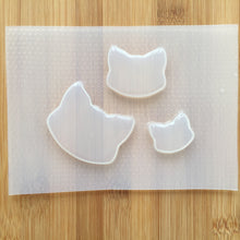 Load image into Gallery viewer, Cat Heads Plastic Mold