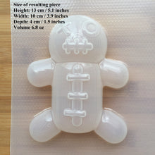 Load image into Gallery viewer, 6.8 oz Voodoo Doll Plastic Mold