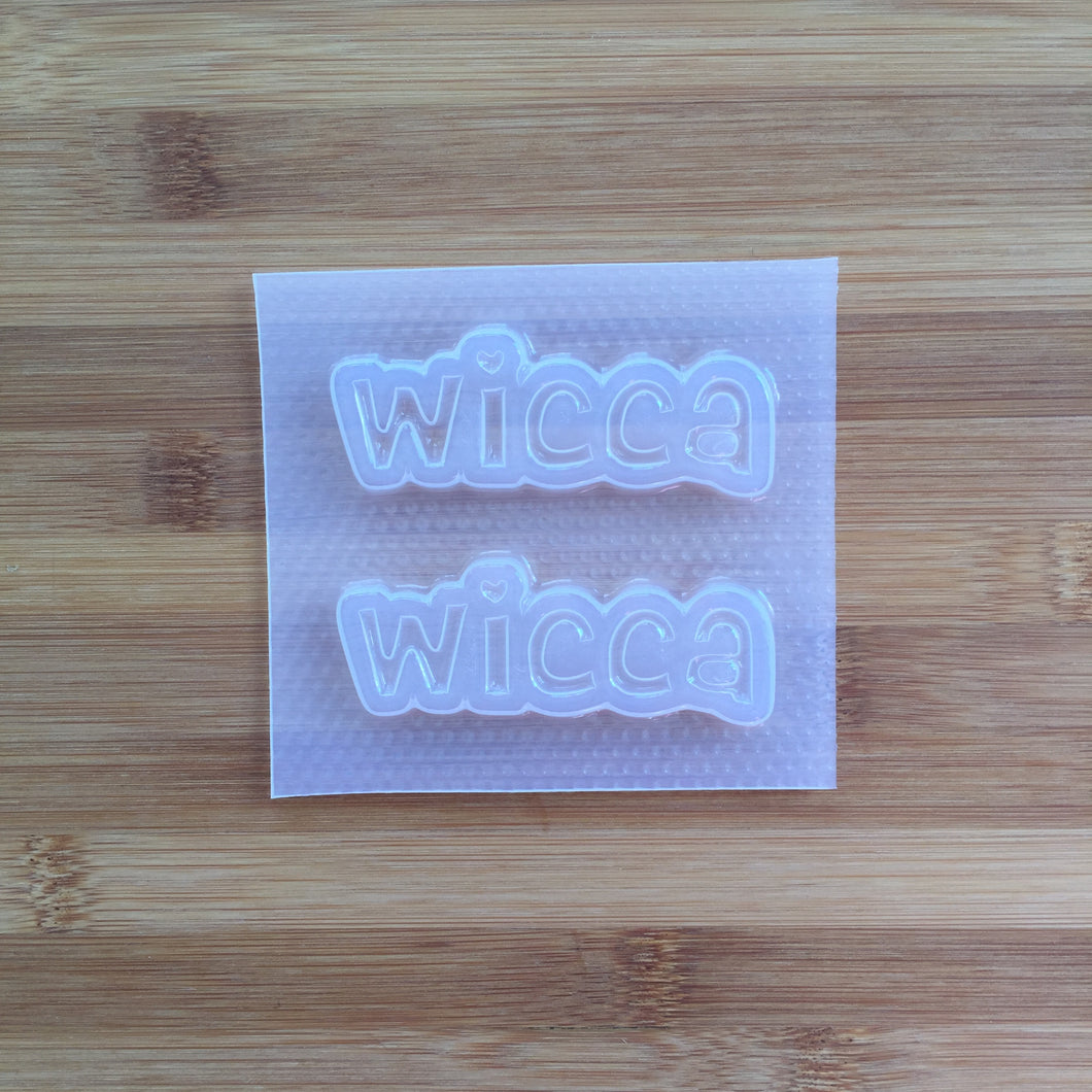 Wicca word Mold