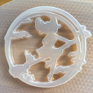 Witch Silhouette Mold