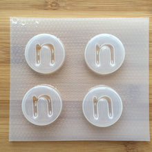 Load image into Gallery viewer, Letter n Plastic Mold - Lower case - Circle