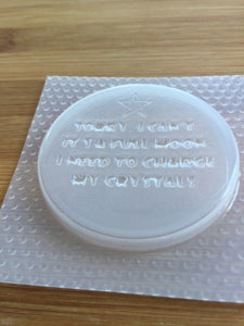 Full Moon Quote Mold