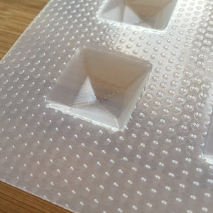 Square Gemstone Plastic Mold
