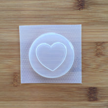 Load image into Gallery viewer, Large Heart Badge Mold