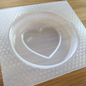 Large Heart Badge Mold