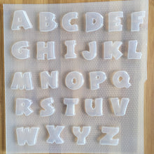 Load image into Gallery viewer, A-Z Alphabet Letters Mold